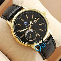 Часы BMW золотые с черным