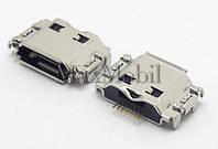 Разъем micro usb Samsung I8910, I9000, I9001, I9003, S5260, S5350, S5660, S7220, S8600 оригинал