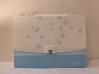 Портфель А4 пластиковый на 13 отделений