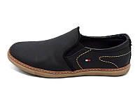 Мужские туфли натуральная кожа Multi Shoes Prima CP Black Размер: 41 43 44