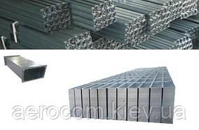 Спирально-навивные воздуховоды стальные прямоугольные