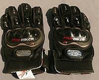 Перчатки PRO-BIKER (чёрные)