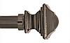 Декоративный наконечник Борджеза для кованого карниза 25 мм.