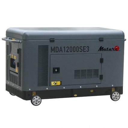 Дизель генератор Matari MDA12000SE3-ATS (10 кВт), фото 2