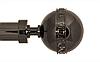 Декоративный наконечник Этерния для кованого карниза 25 мм.