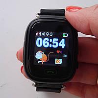Детские умные часы Q90 Оригинал. Черные