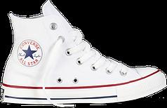 Женские кеды Converse All Star высокие белые