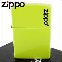 Зажигалка Zippo 28887 ZL Neon Green Lighter