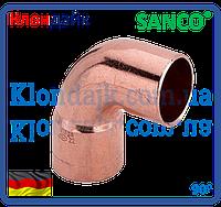 SANCO Колено медное 54/90° 1 муфта
