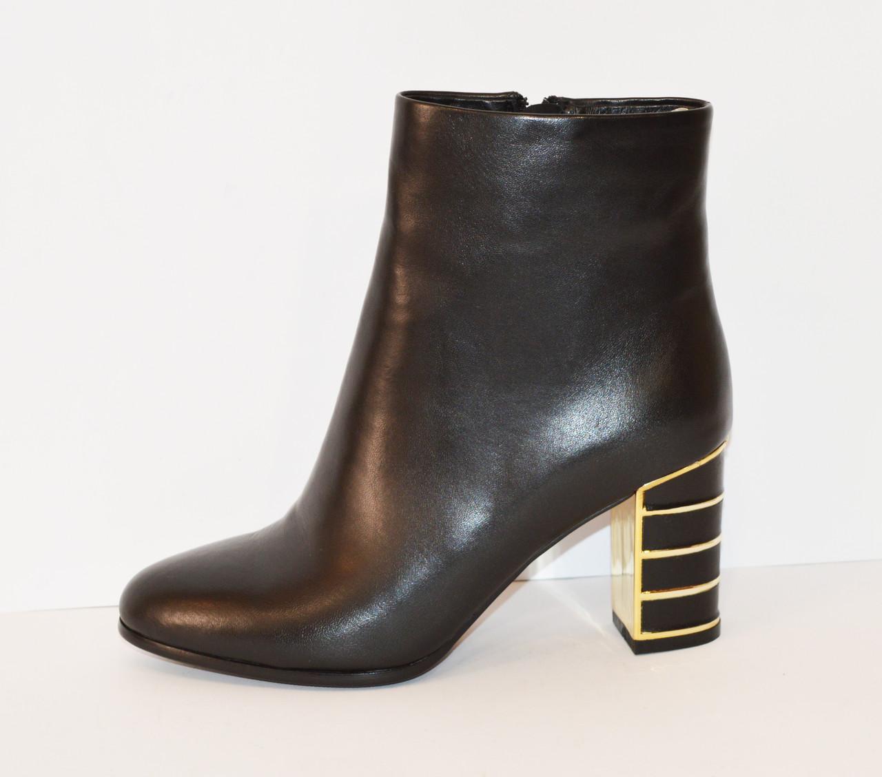 Черные женские ботинки Mellanee 96