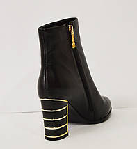 Черные женские ботинки Mellanee 96, фото 2