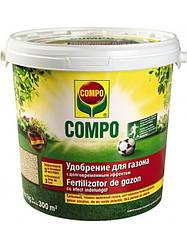Твёрдое удобрение для газона COMPO 8 кг