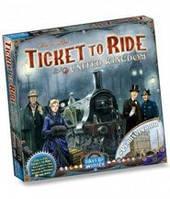 Билет на поезд: Великобритания (Ticket to ride: UK & Pennsylvania) настольная игра