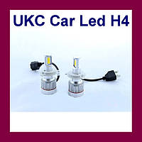 Led лампы для автомобиля UKC Car Led H4 c цоколем 33W 4500-5000K 3000LM CAR LED headlight!Акция