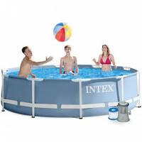 Каркасный бассейн 305х76 см с насосом фильтром