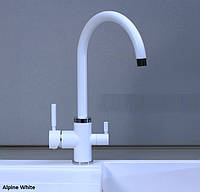 Смеситель для кухни Fabiano FKM 31.3 Alpine White