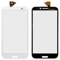 Touchscreen (сенсорный экран) для Zopo ZP950+ Leader Max, оригинал (белый)