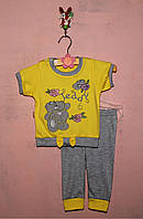 Летний детский костюм для девочки 62-92
