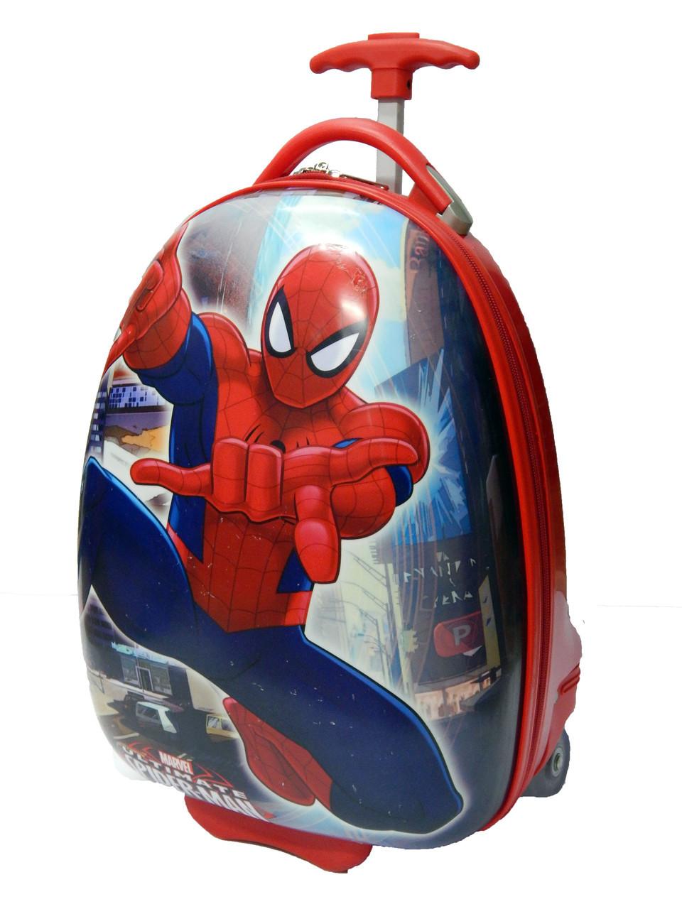 Чемодан детский на колесиках 016-10 «Человек-паук»