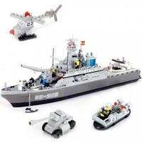Конструктор 8413  BANBAO Морской корабль 858дет.
