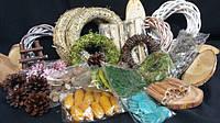 Натуральный декор, сухоцветы, пряности, декоративные травы