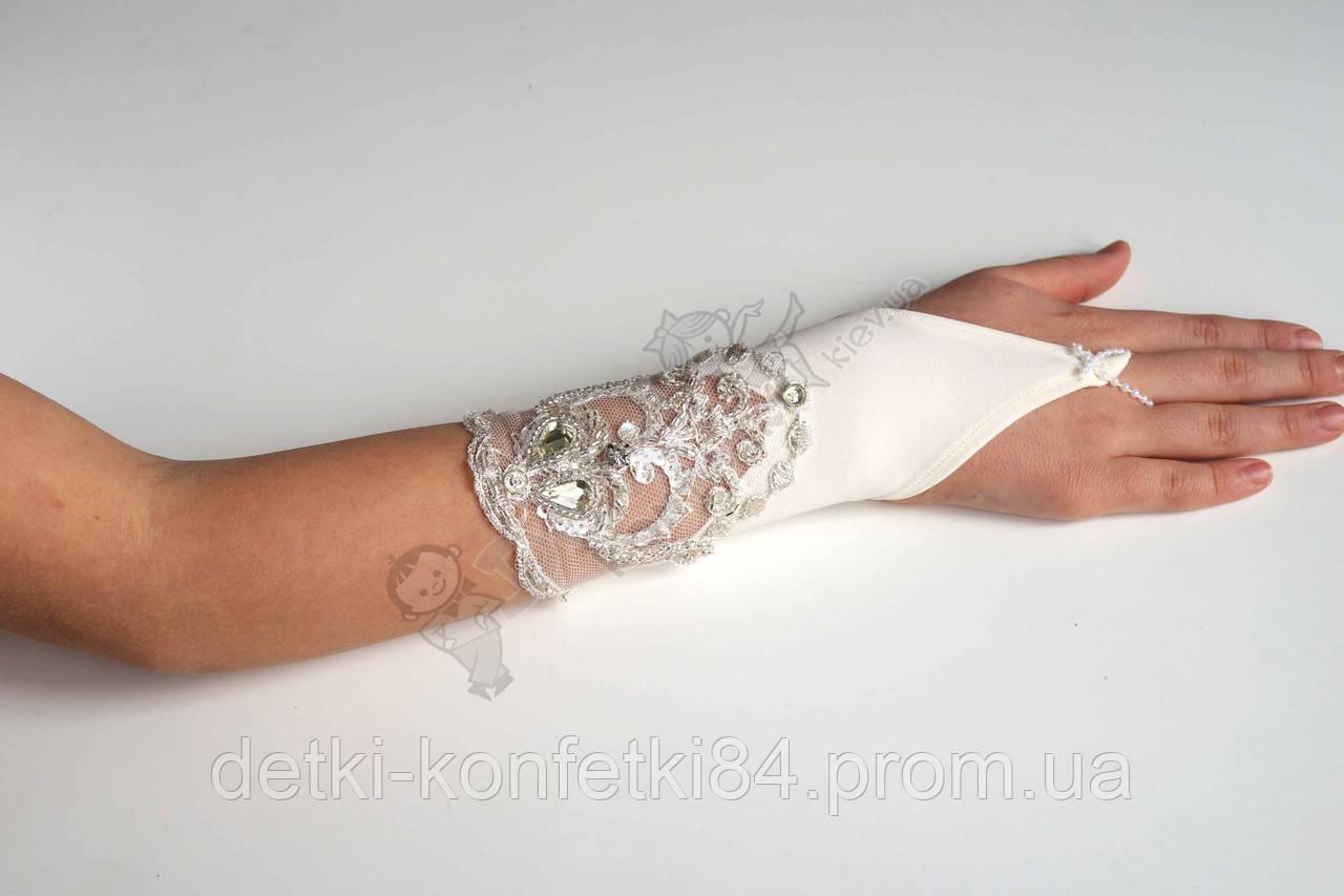 Бальные перчатки 0038 - Детки-Конфетки в Киеве