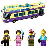 Конструктор BRICK-1123 Экскурсионный Автобус 455дет