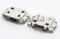 Разъем micro usb Samsung B7722, I5700, I5800, I7500, I8510,S5250, S5620, S7350, S7550, S8000, S8300