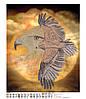 Схема для бисера Дух Ветра орлы птицы
