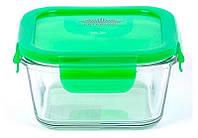 Контейнер для продуктов Peterhof 0,4 л, зеленый (PH-10084-GR)_333556