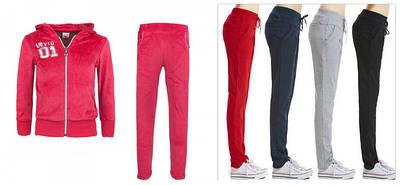 Спортивные брюки, костюмы для девочек