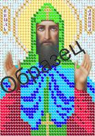Схема для вышивки бисером «Святой Даниил»