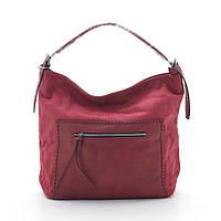 Стильная модная женская сумка хобо 2017 L. Pigeon красная