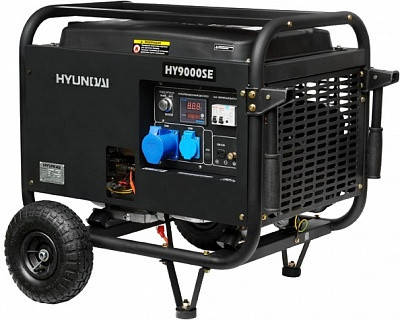 Генератор Hyundai HY 9000SE, фото 2