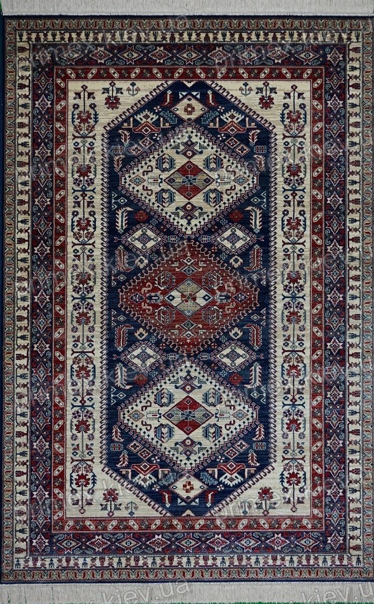 Ковер Spirit Rhombus, цвет темно-синий