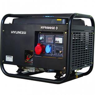 Генератор Hyundai HY 9000SE-3, фото 2