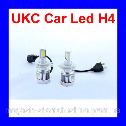 Led лампы для автомобиля UKC Car Led H4 c цоколем 33W 4500-5000K 3000LM CAR LED headlight, фото 2