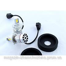Led лампы для автомобиля UKC Car Led H4 c цоколем 33W 4500-5000K 3000LM CAR LED headlight, фото 3
