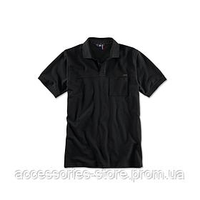 Мужская рубашка поло BMW M Polo Shirt, Men, Black
