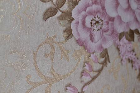 Обои,на стену, второй сорт, горячего тиснения на флизелиновой основе, Мирель Декор, 1.06, фото 2