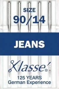Голки для побутових швейних машин для джинсових тканин № 90/14