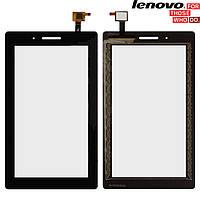 Сенсорный экран (touchscreen) для Lenovo TAB 3 Essential 710L 3G, черный, оригинал
