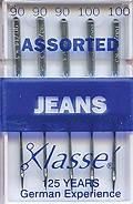 Голки для побутових швейних машин для джинсових тканин № 90, 100