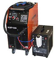 Сварочный полуавтомат ПДГУ-500 (Инвертор) + горелка BINZEL, фото 1