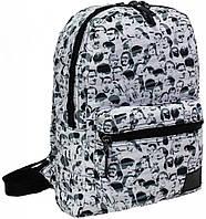 Молодежный,дорожный рюкзкак Bagland The Beatles theme mini