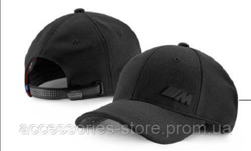 Бейсболка унисекс BMW M Performance Cap Unisex, Black