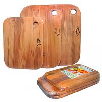 Набор разделочных досок деревянных 3пр SNT