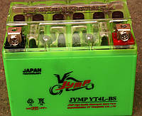 АКБ  JYMP 4A-BS (GEL) зеленый 86x70x114