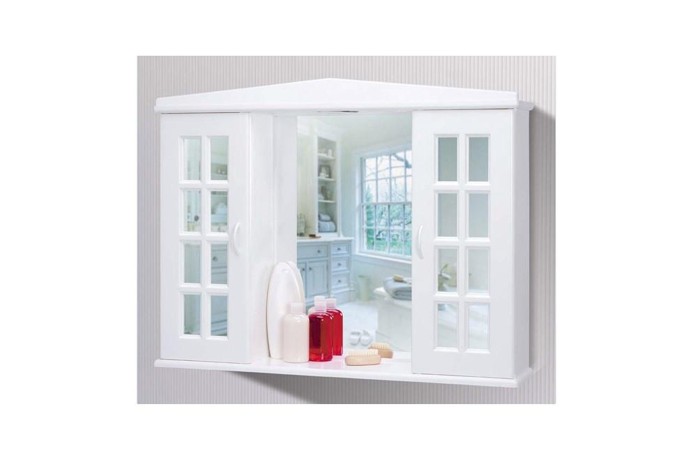 Шкафчик с зеркалом и подсветкой, код 08401
