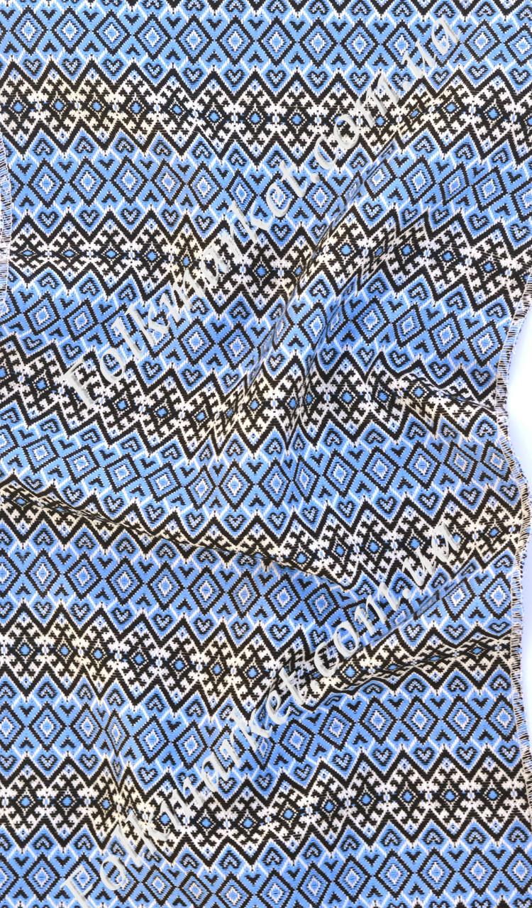 Ткань с украинской вышивкой Ласунка ТДК-66 2/2
